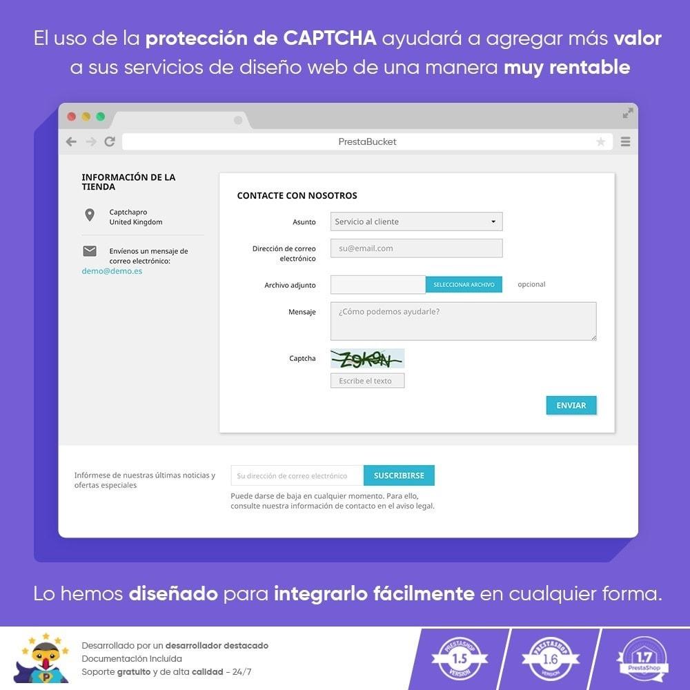 module - Seguridad y Accesos - Ultimate Math CAPTCHA / Seguridad antispam mejorada - 2
