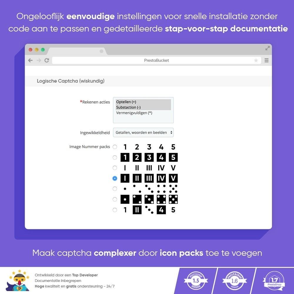 module - Veiligheid & Toegang - Ultieme Math CAPTCHA / Verbeterde Anti-spam - 4