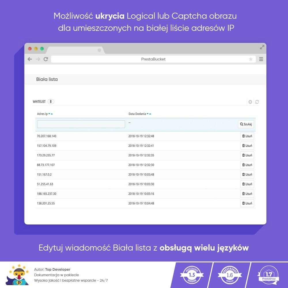 module - Bezpieczeństwa & Dostępu - Ultimate Math CAPTCHA / Enhanced Anti-Spam Security - 6