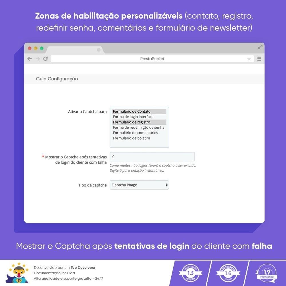 module - Segurança & Acesso - Ultimate Math CAPTCHA / Segurança Anti Spam Aprimorada - 3