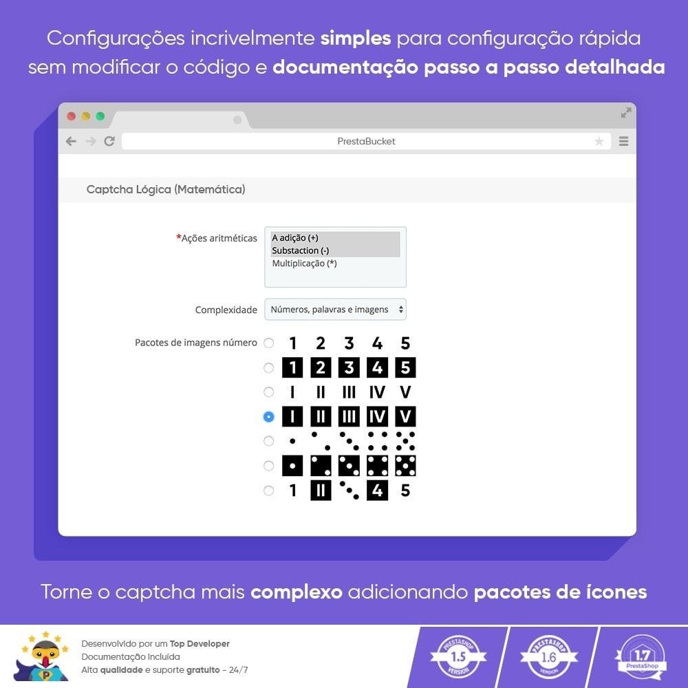 module - Segurança & Acesso - Ultimate Math CAPTCHA / Segurança Anti Spam Aprimorada - 4