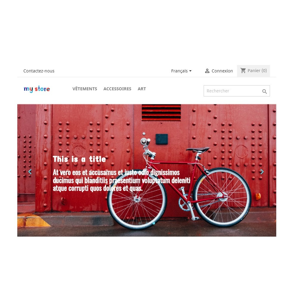 module - Slider & Gallerie - Homepage Slider - 4