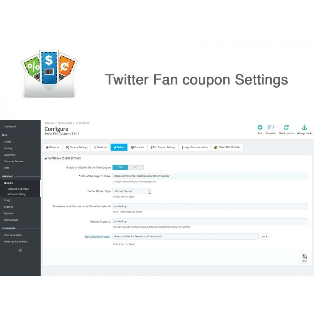 module - Social Rewards & Coupons - Social Fan Coupons (3 in 1) - 11