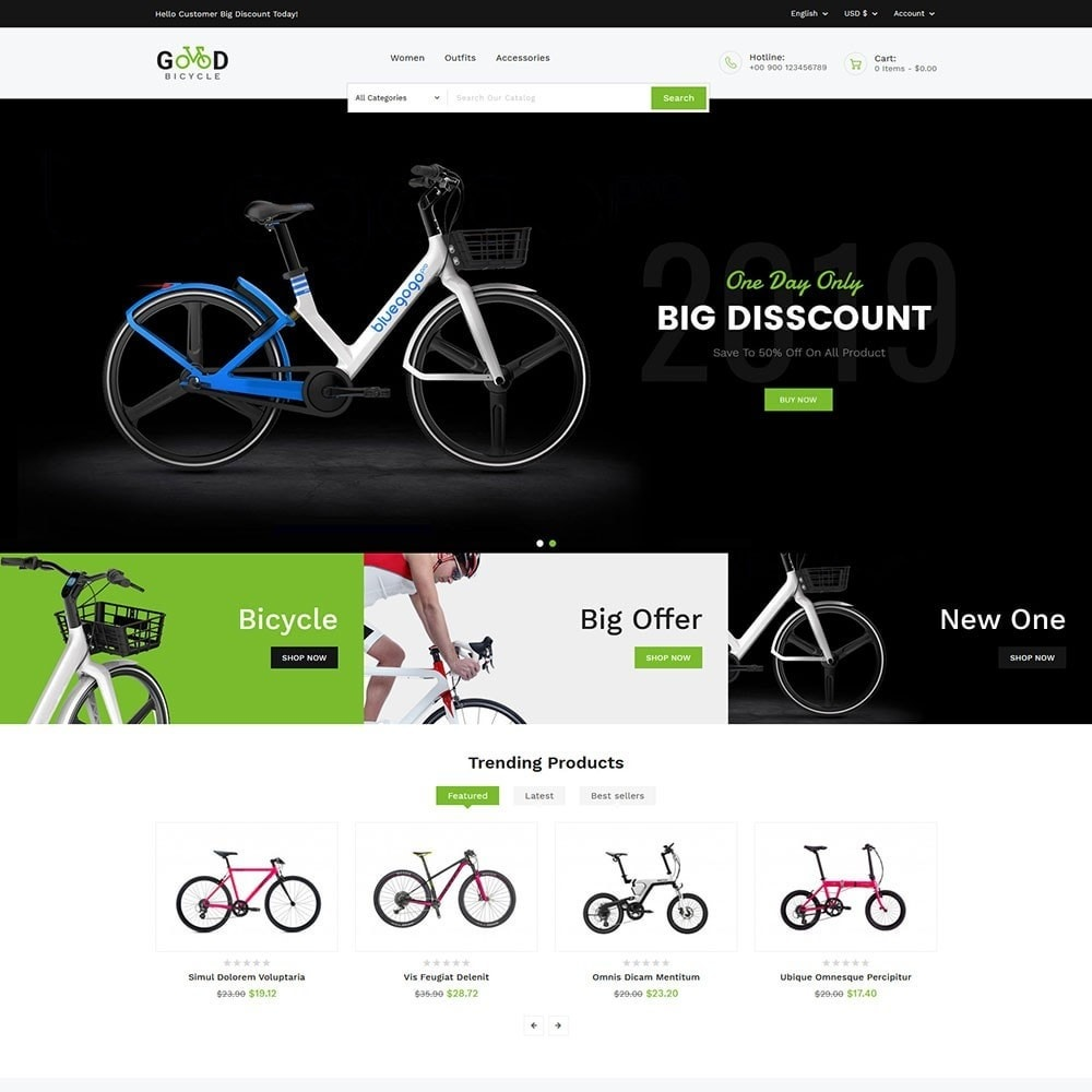 theme - Sports, Activities & Travel - Good Bicycle and Sports Store - 2