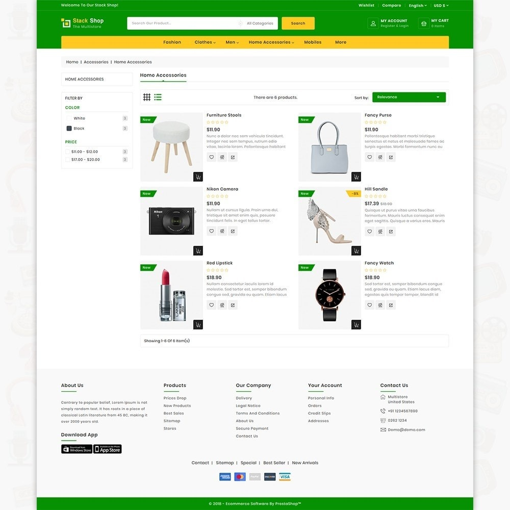 theme - Elektronica & High Tech - StackShop - The MultiShop Store - 4