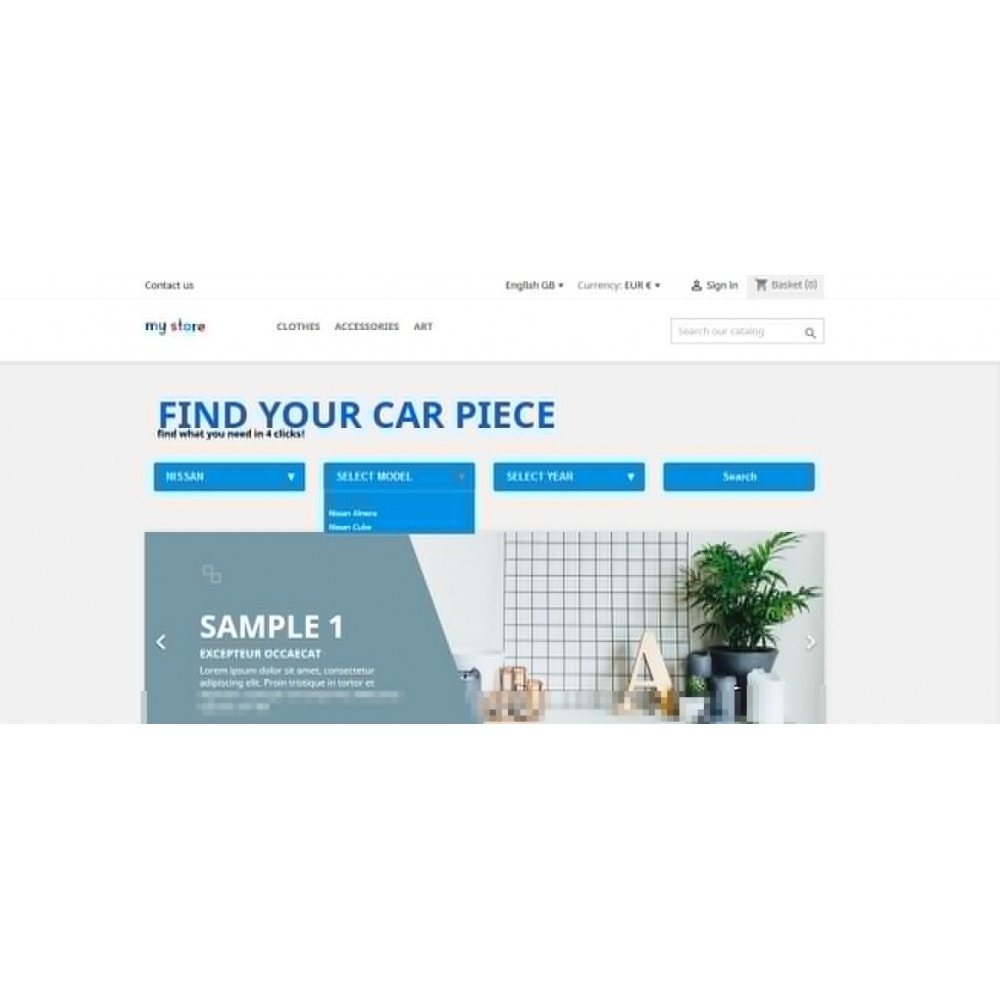module - Menu - Car Menu Selector - 2