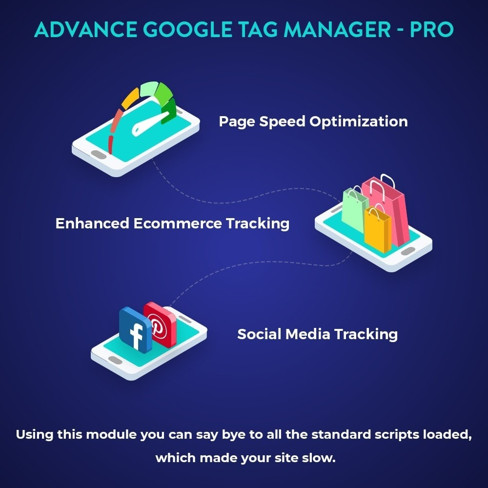 module - Analyses & Statistieken - Advance Google Tag Manager - PRO - 2