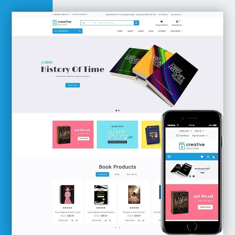 theme - Arte e Cultura - Creative Book Store - 1