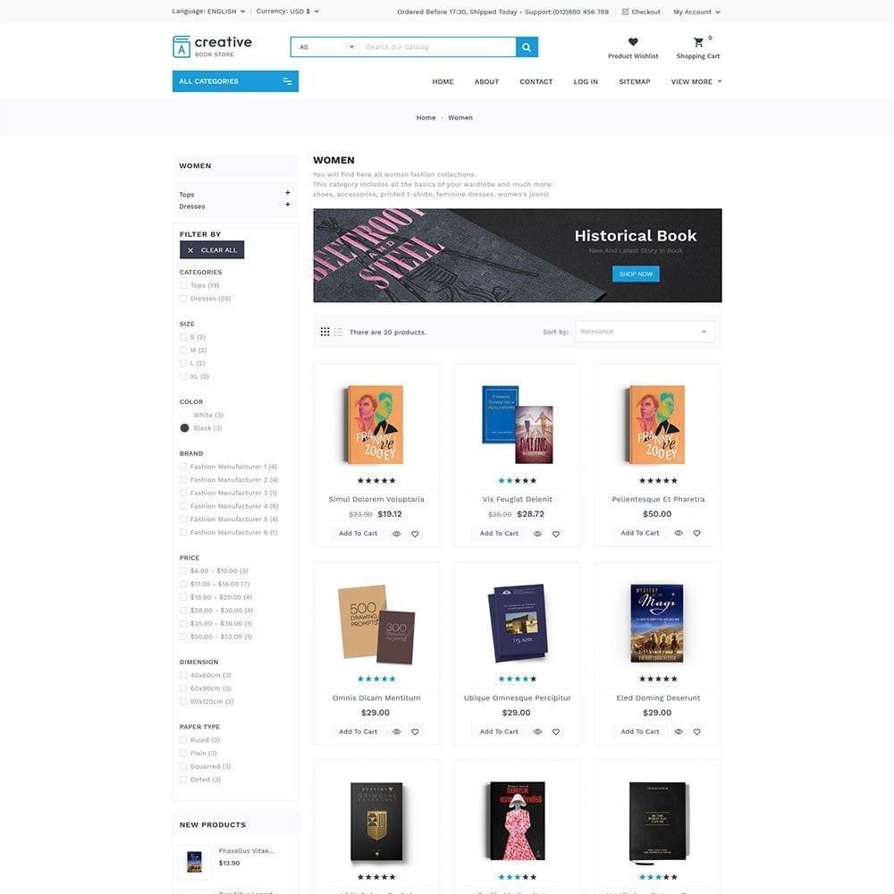 theme - Arte e Cultura - Creative Book Store - 5