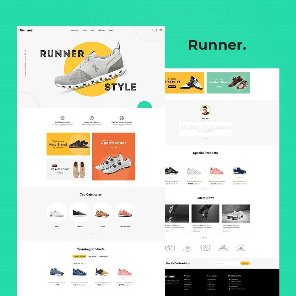 theme - Sport, Activiteiten & Reizen - Runner - Sports Shoes & Footwear - 2