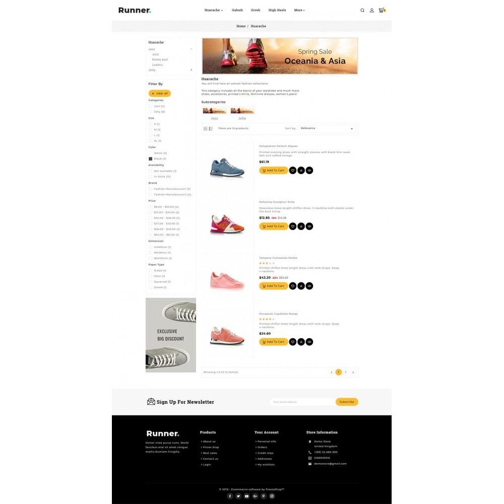 theme - Sport, Activiteiten & Reizen - Runner - Sports Shoes & Footwear - 4