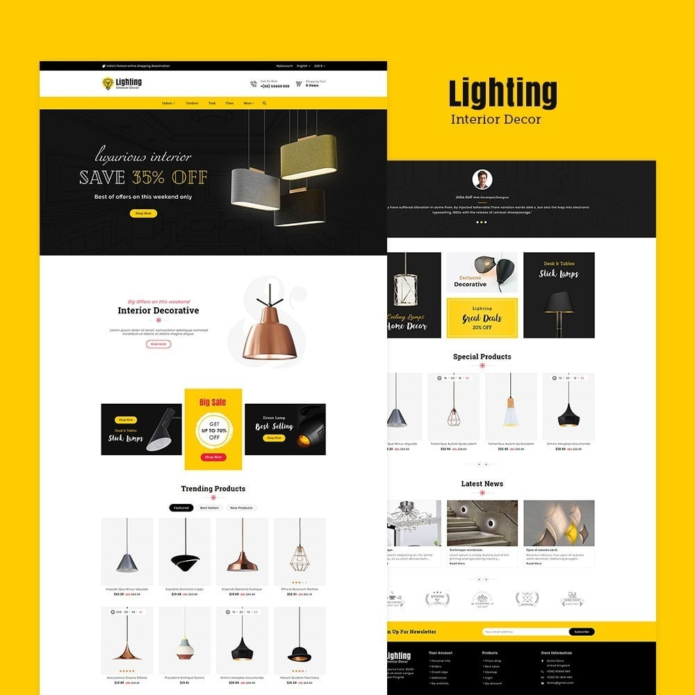 theme - Home & Garden - Lighting & Interior Decor - 2
