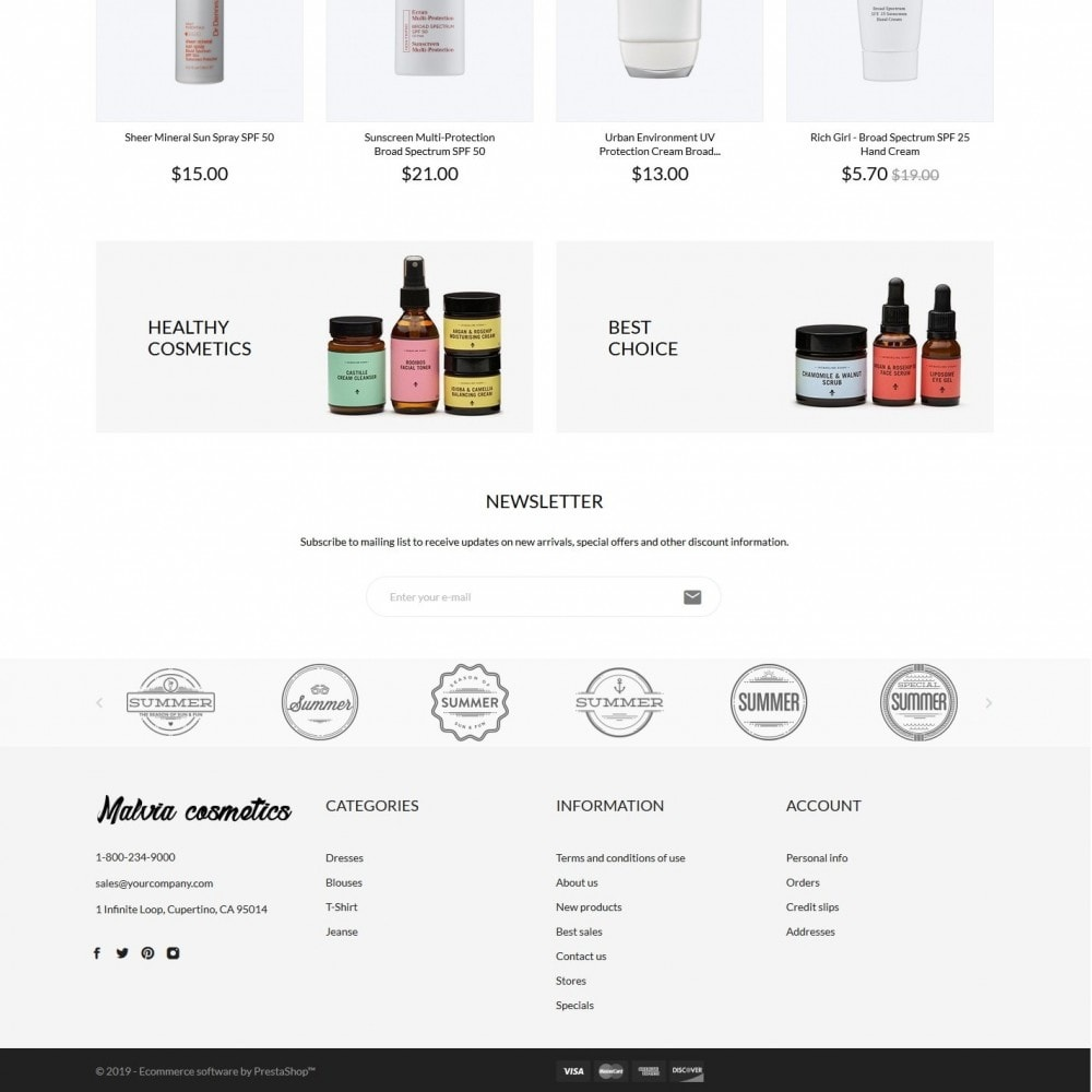 theme - Health & Beauty - Malvia Cosmetics - 4