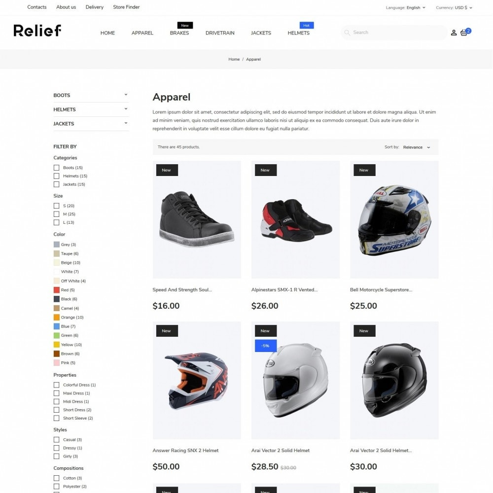 theme - Automotive & Cars - Relief - 5