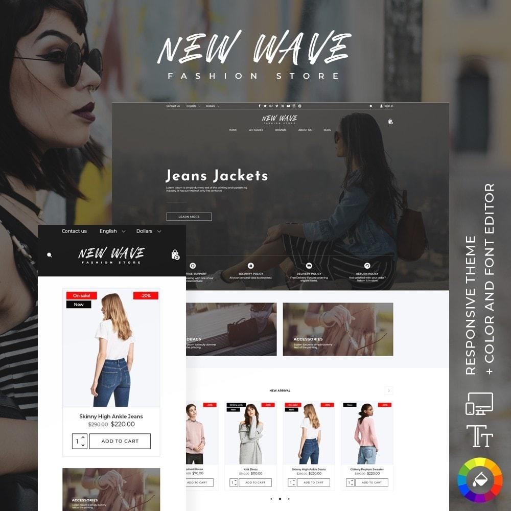 theme - Fashion & Shoes - New Wave Fashion Store - 1