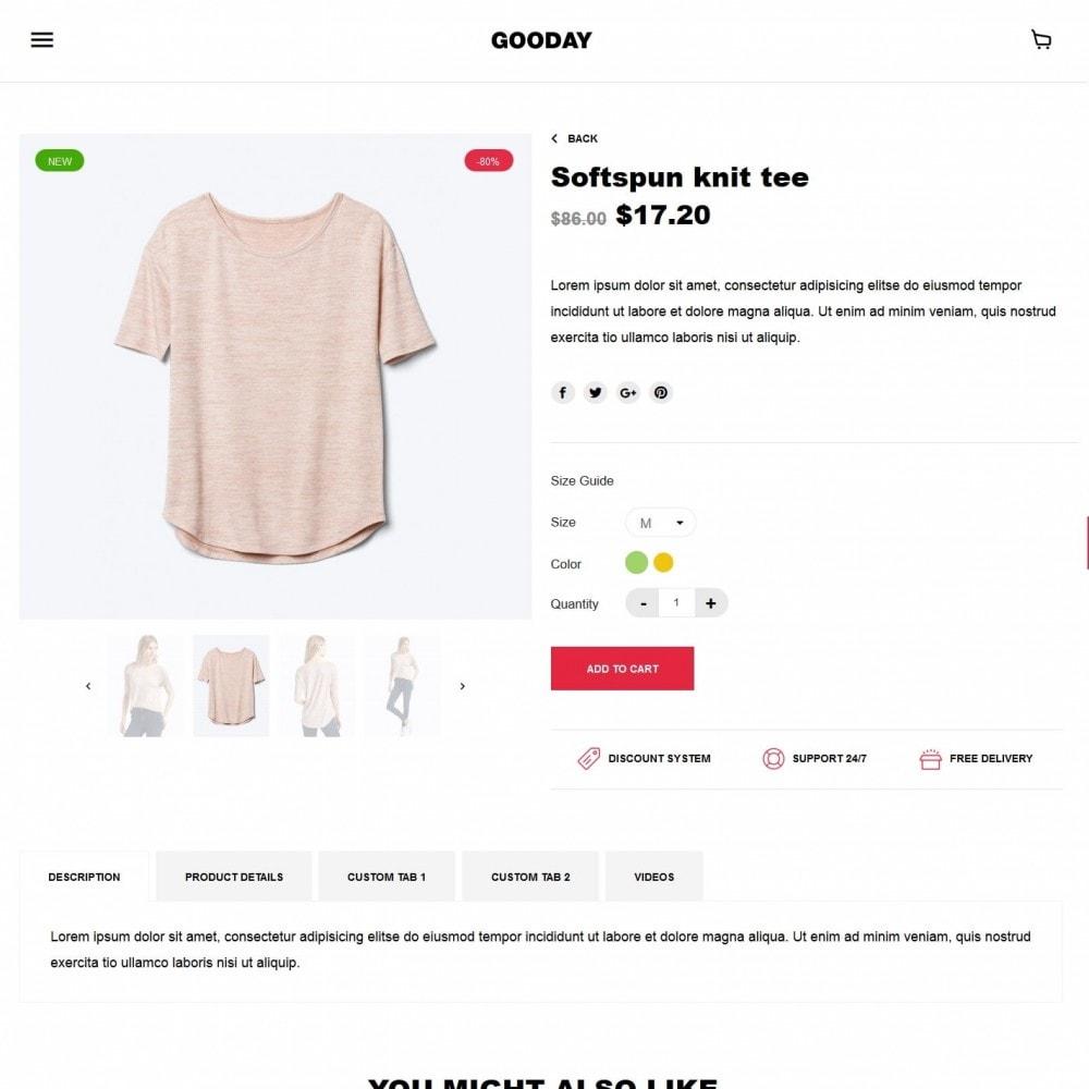 theme - Moda y Calzado - Gooday Fashion Store - 6