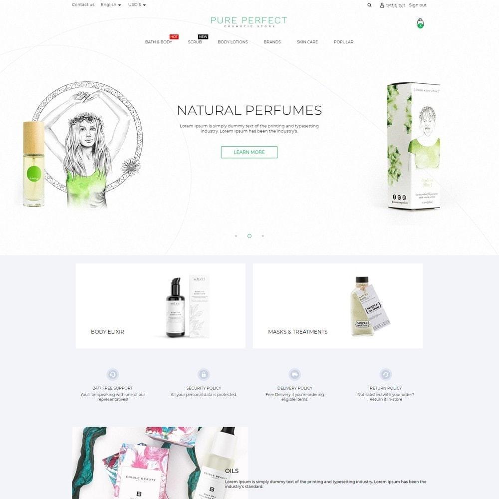theme - Health & Beauty - Pure Perfect Cosmetics - 2