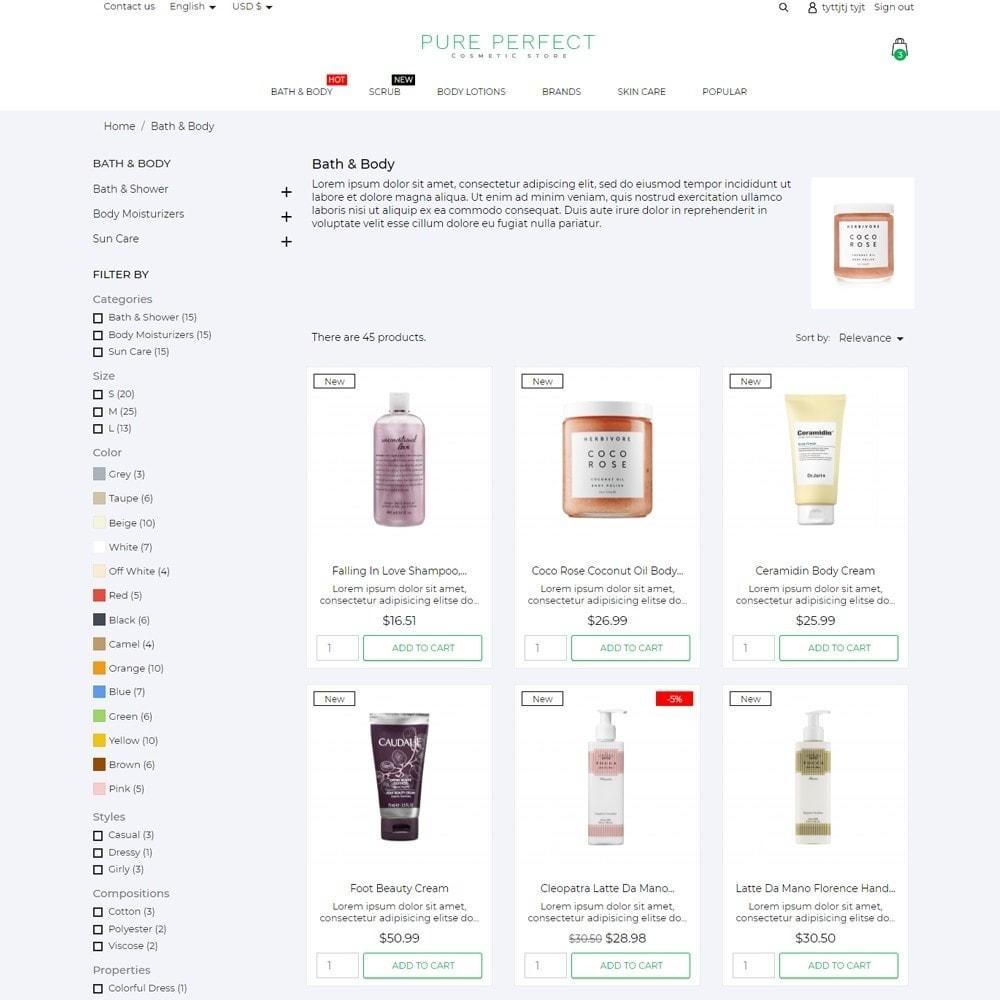 theme - Health & Beauty - Pure Perfect Cosmetics - 5