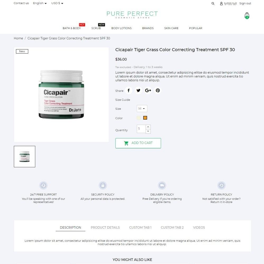 theme - Health & Beauty - Pure Perfect Cosmetics - 6