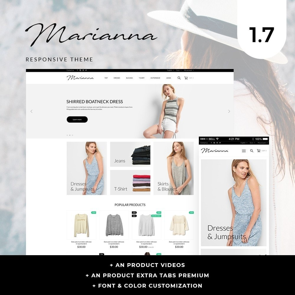theme - Mode & Schuhe - Marianna Fashion Store - 1