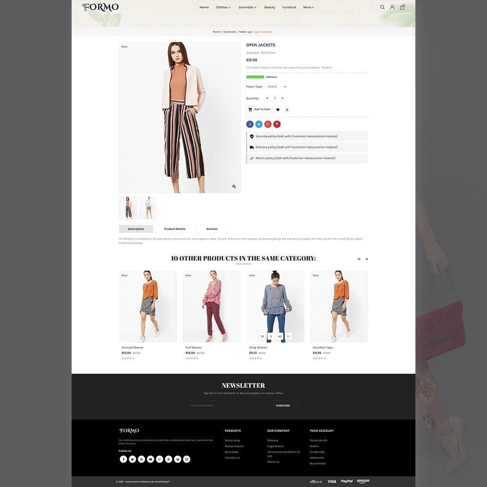 theme - Fashion & Shoes - Formo Fashion Shop - 2