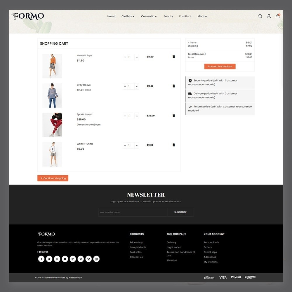 theme - Mode & Chaussures - Formo Fashion Shop - 6