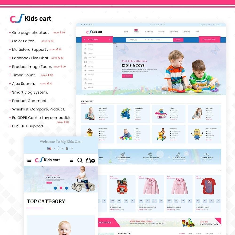 theme - Enfants & Jouets - Kids Cart - Multipurpose Mega Kids Store - 1