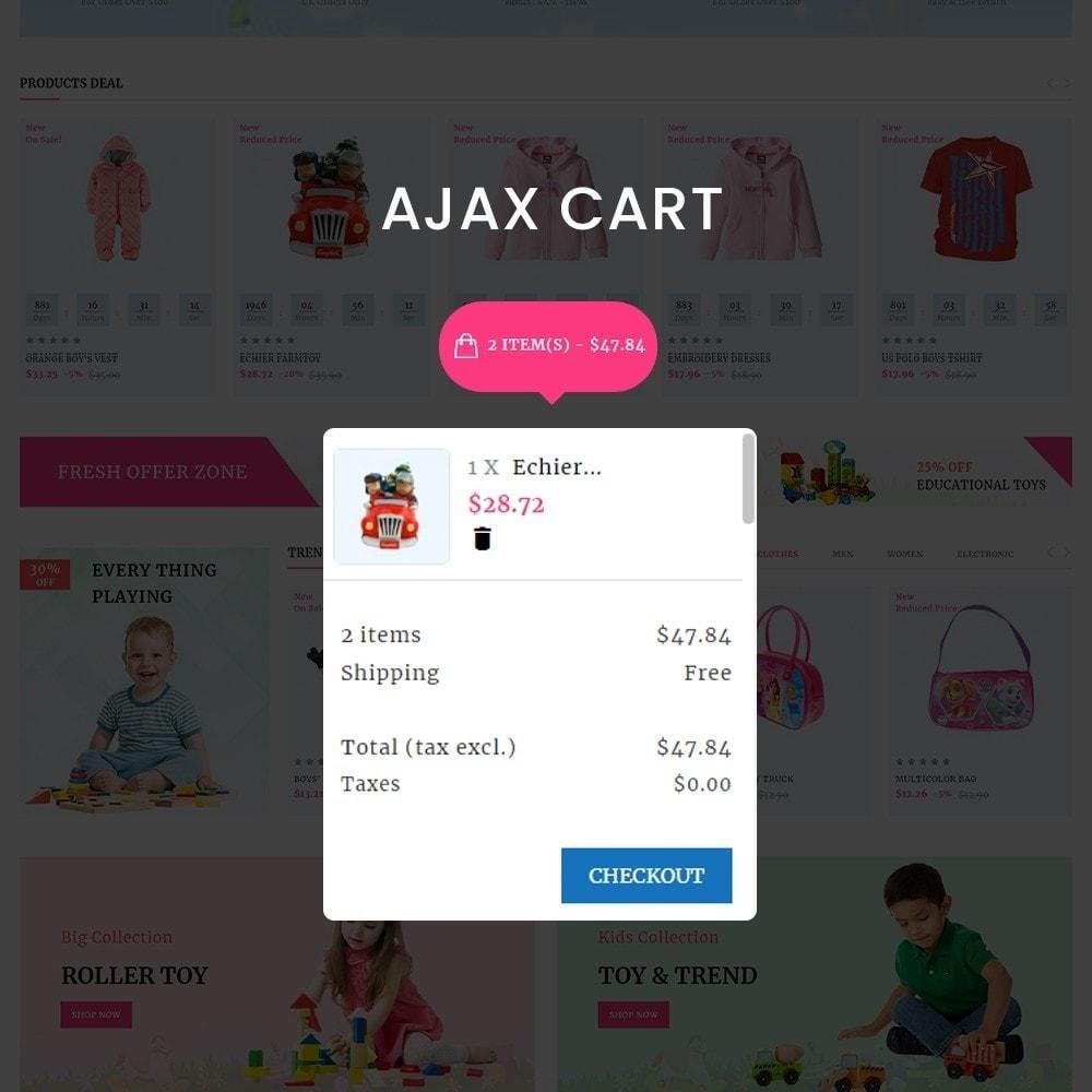 theme - Enfants & Jouets - Kids Cart - Multipurpose Mega Kids Store - 5