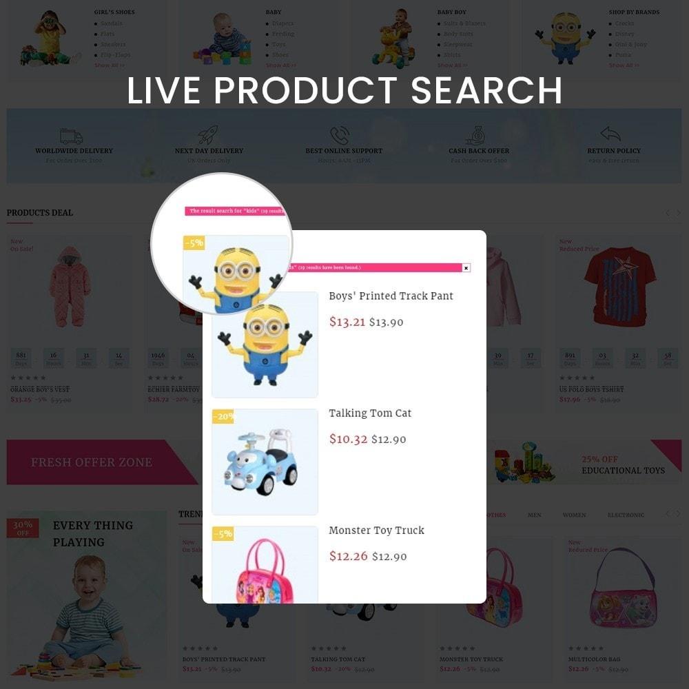 theme - Enfants & Jouets - Kids Cart - Multipurpose Mega Kids Store - 6