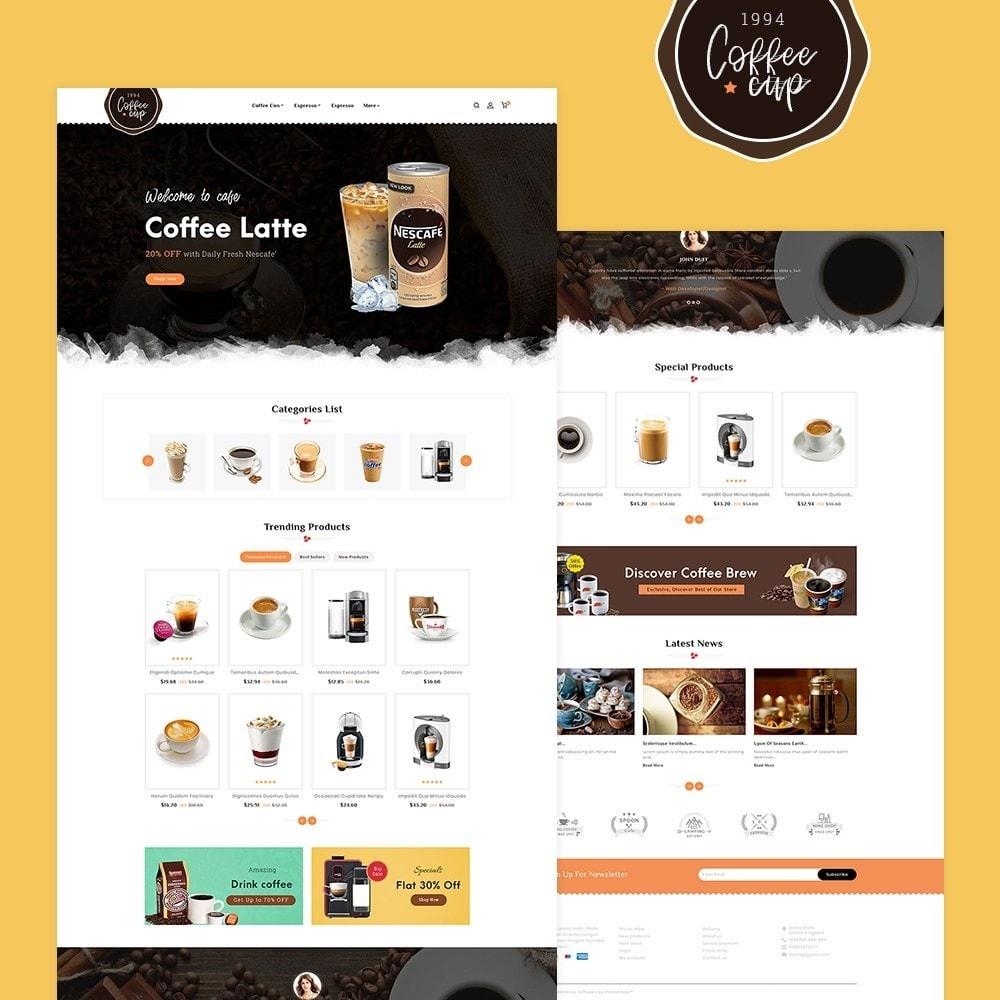 theme - Drank & Tabak - Coffee Cup & Shake - 2