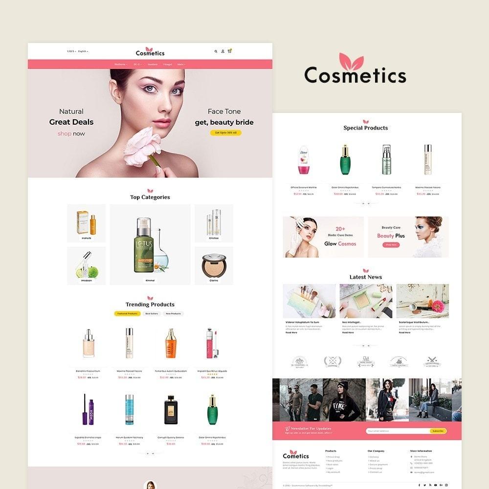 theme - Health & Beauty - Cosmetics & Bio Herbal - 2