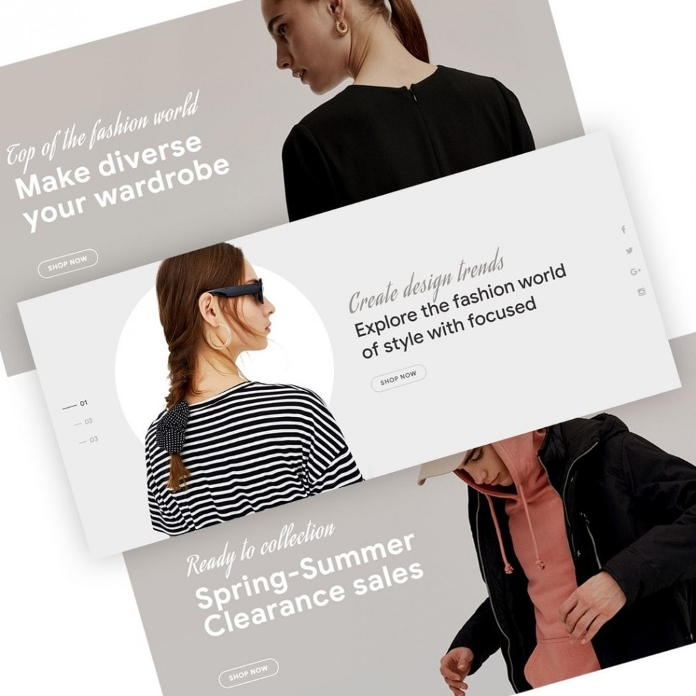 theme - Fashion & Shoes - Carles - Modern Fashion Theme - 3