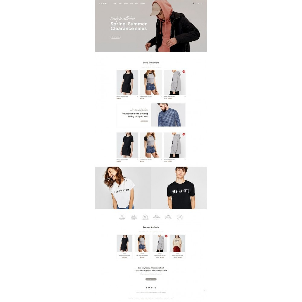 theme - Fashion & Shoes - Carles - Modern Fashion Theme - 7