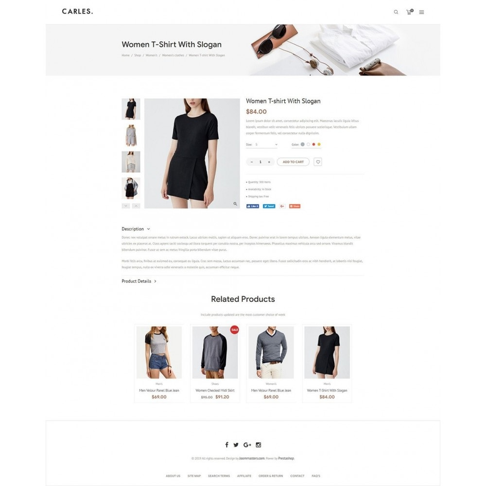 theme - Fashion & Shoes - Carles - Modern Fashion Theme - 11