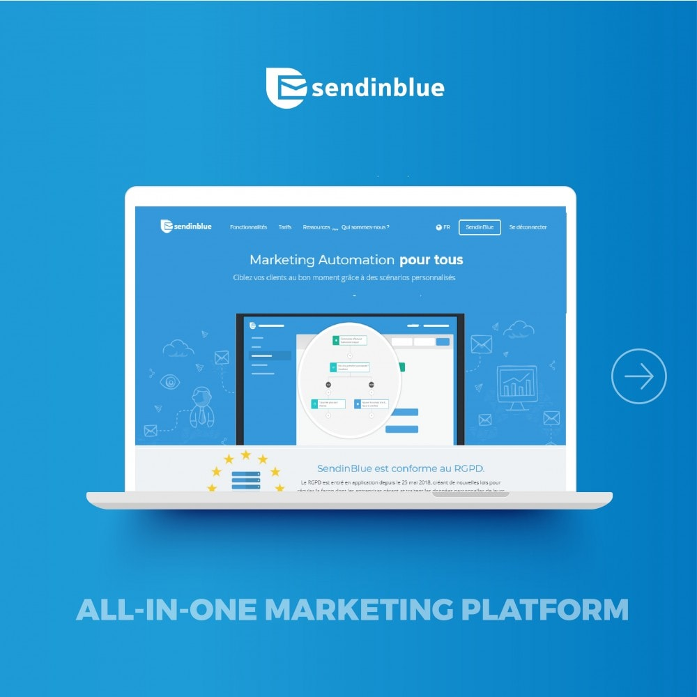 module - Newsletter & SMS - SendinBlue - Email Marketing - 2