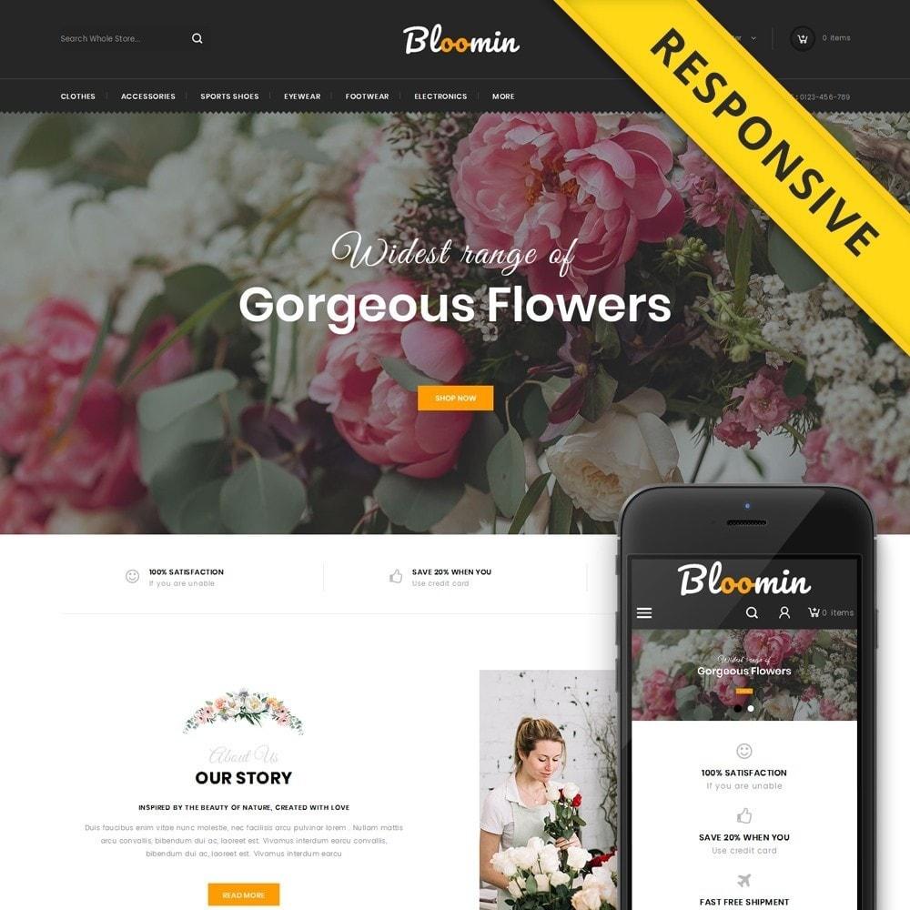 theme - Presentes, Flores & Comemorações - Bloomin - Flower Store - 1