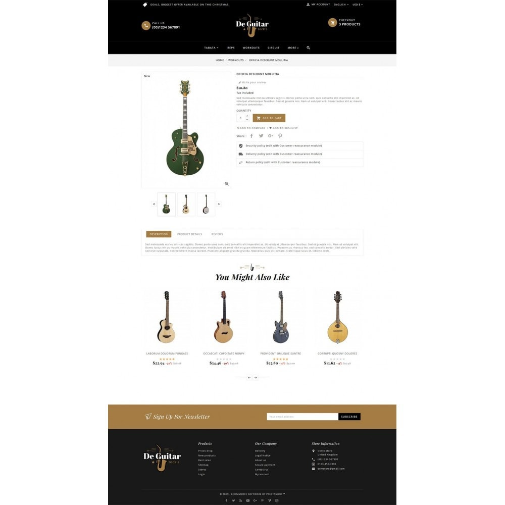 theme - Arte y Cultura - De Guitar & Music Instruments - 5