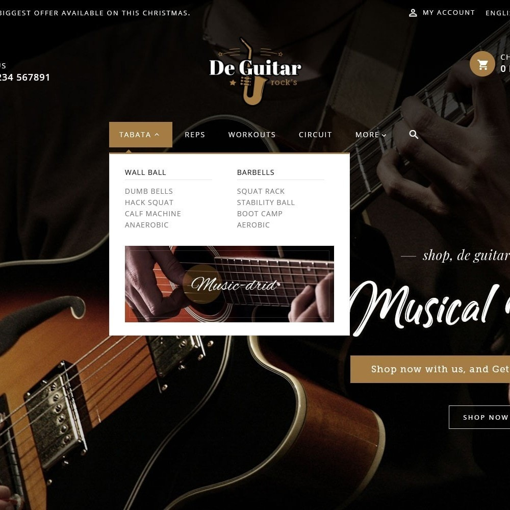 theme - Kunst & Cultuur - De Guitar & Music Instruments - 8