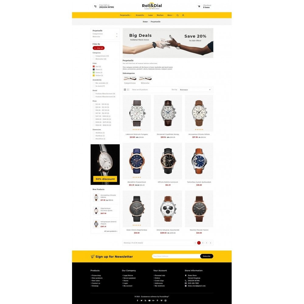 theme - Sieraden & Accessoires - Rolls & Dial - Watches - 3