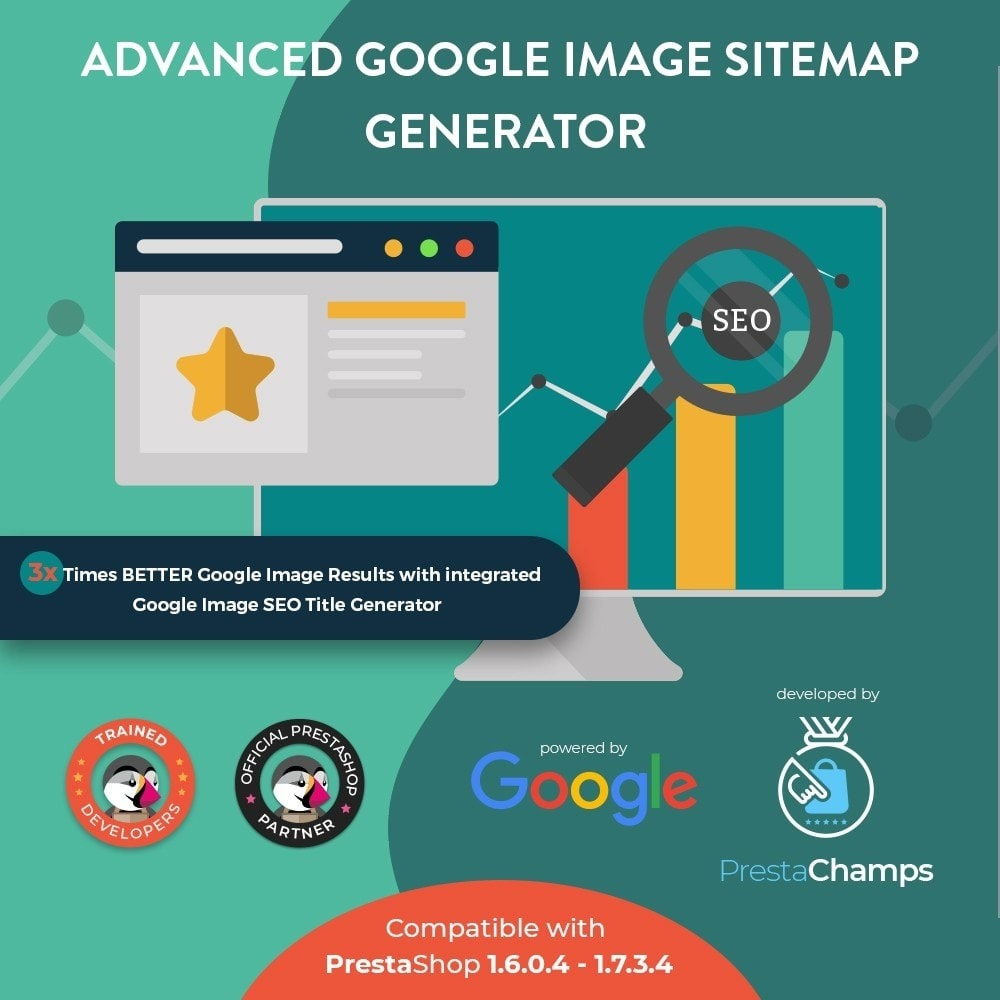 module - SEO (Referenciamento natural) - Advanced Google Image Sitemap Generator - 1