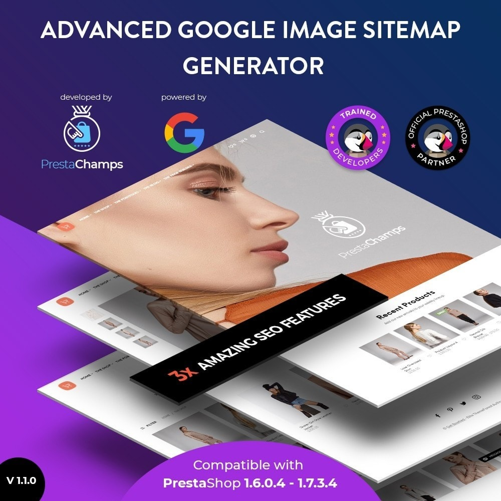 module - SEO (Referenciamento natural) - Advanced Google Image Sitemap Generator - 5