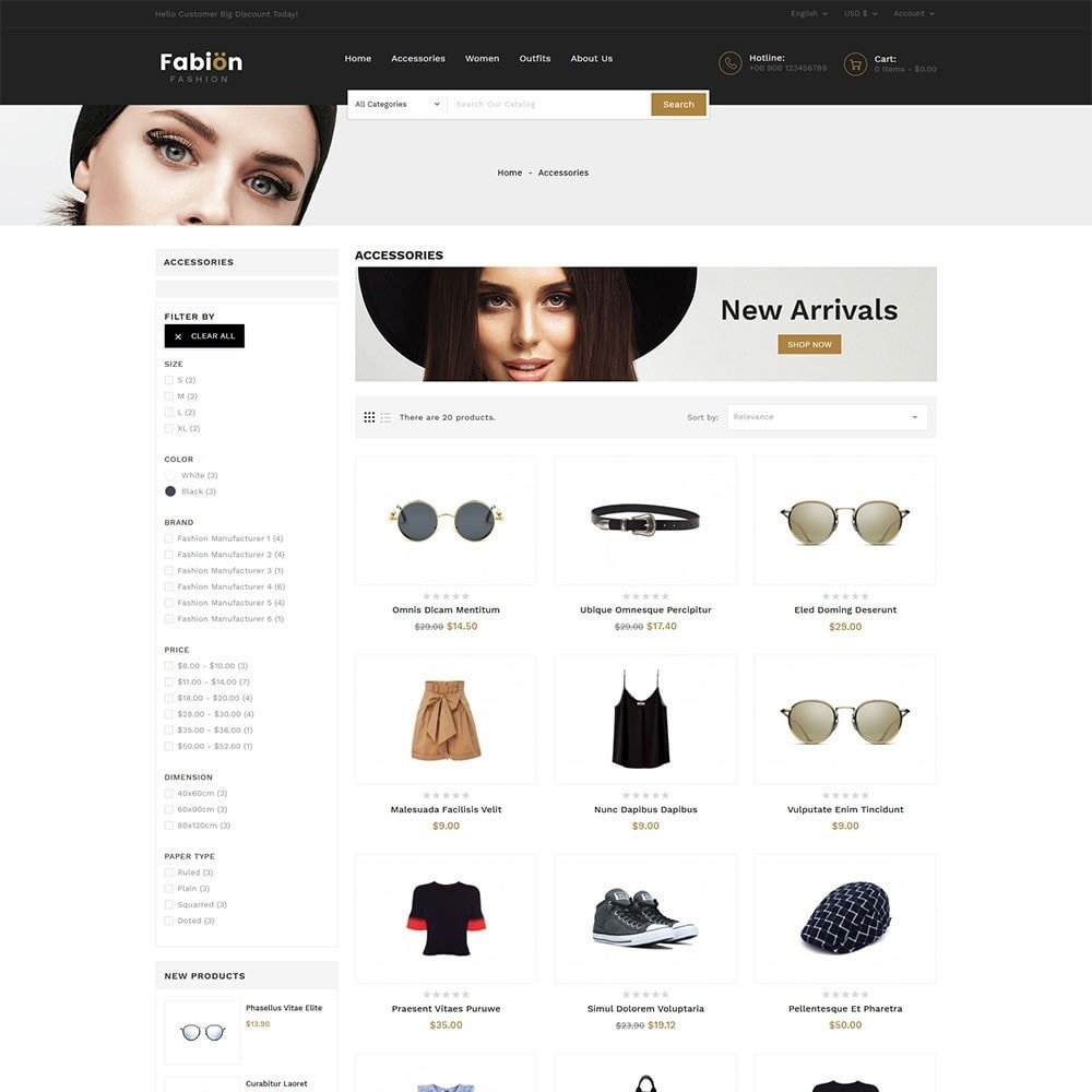 theme - Fashion & Shoes - Fabion Fashion Store - 4