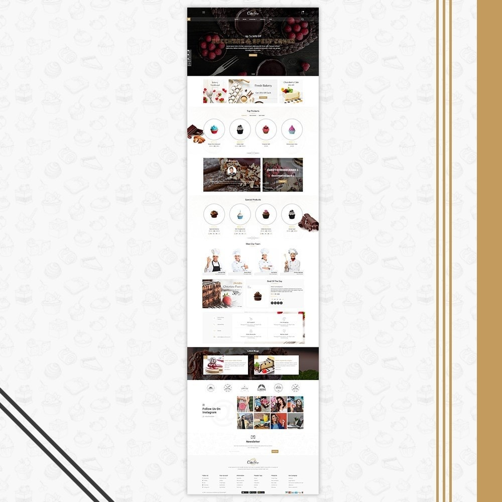 theme - Alimentation & Restauration - Bakery & Cake Shop - 2