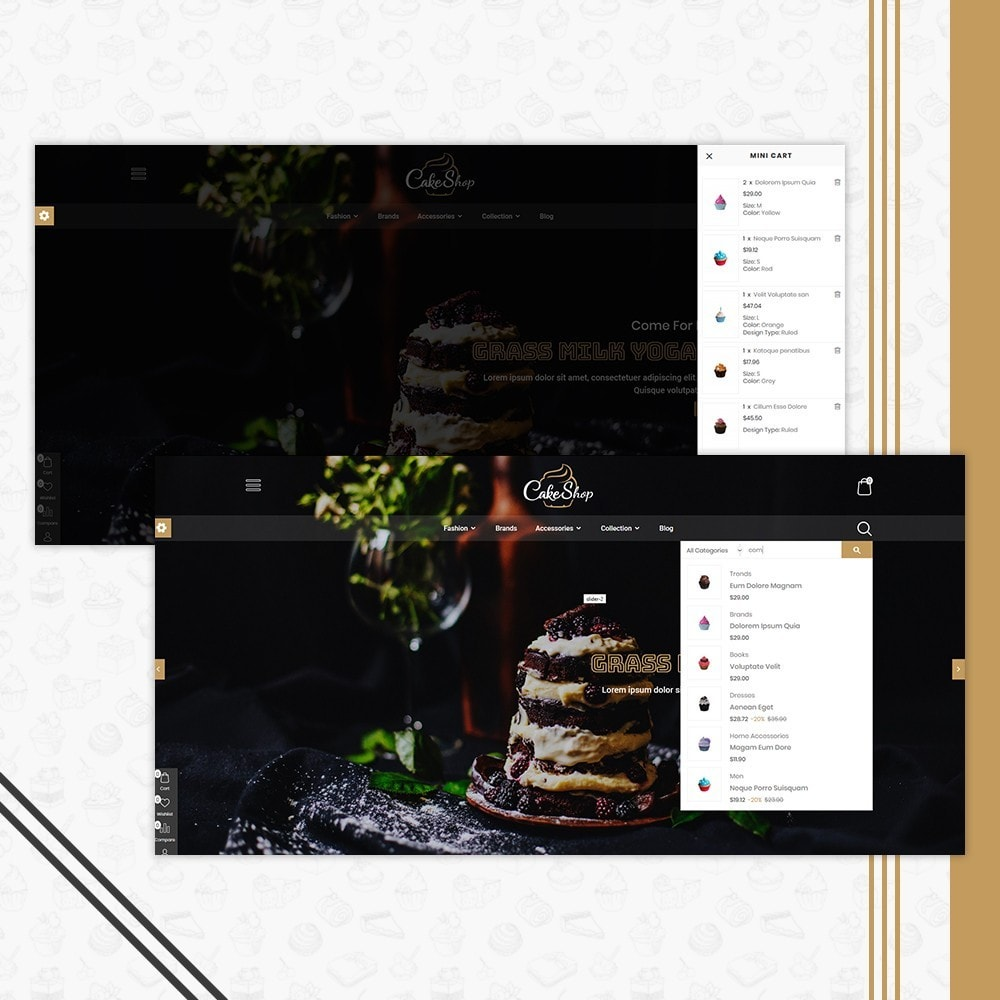 theme - Alimentation & Restauration - Bakery & Cake Shop - 7