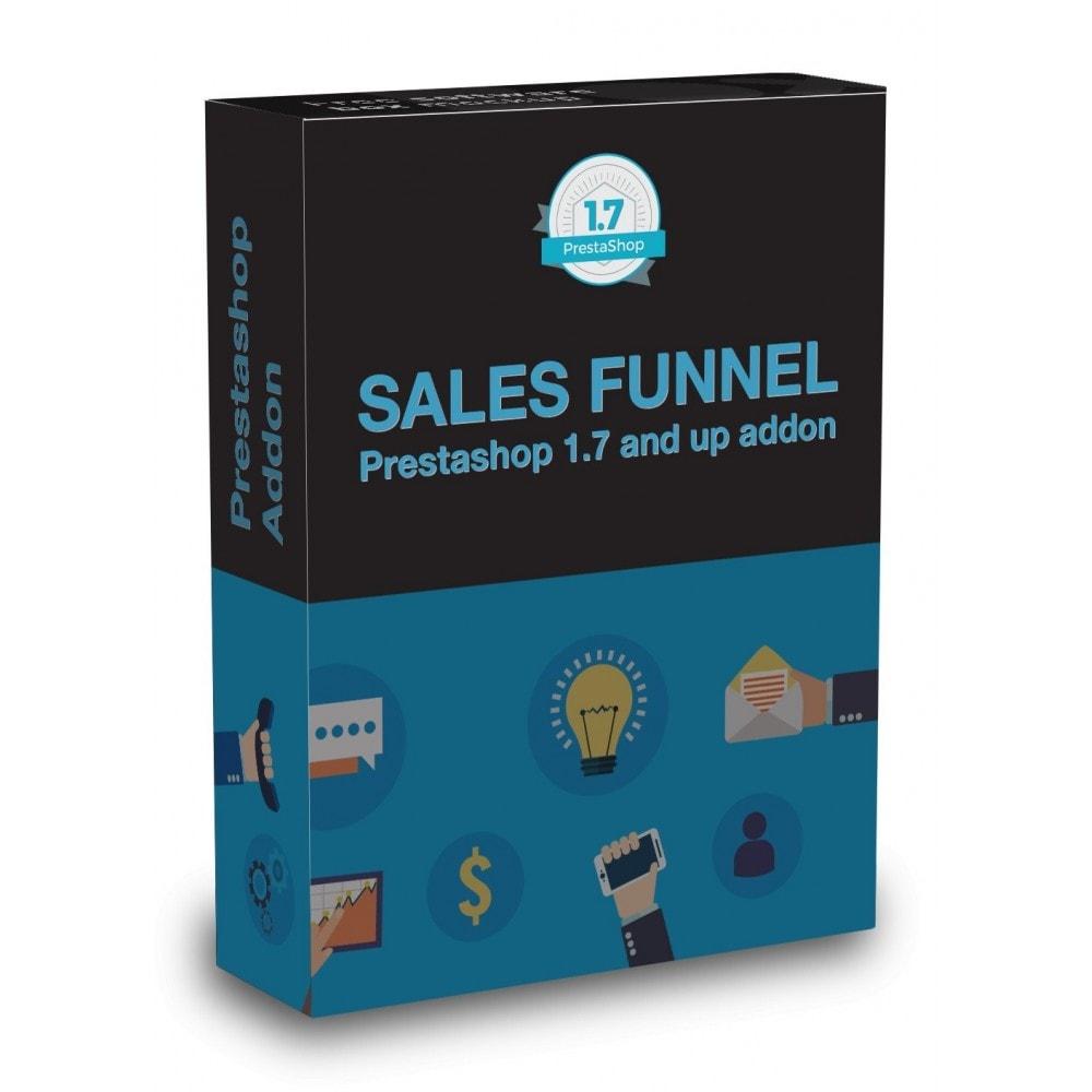 module - Analyses & Statistieken - Sales Funnel - 1