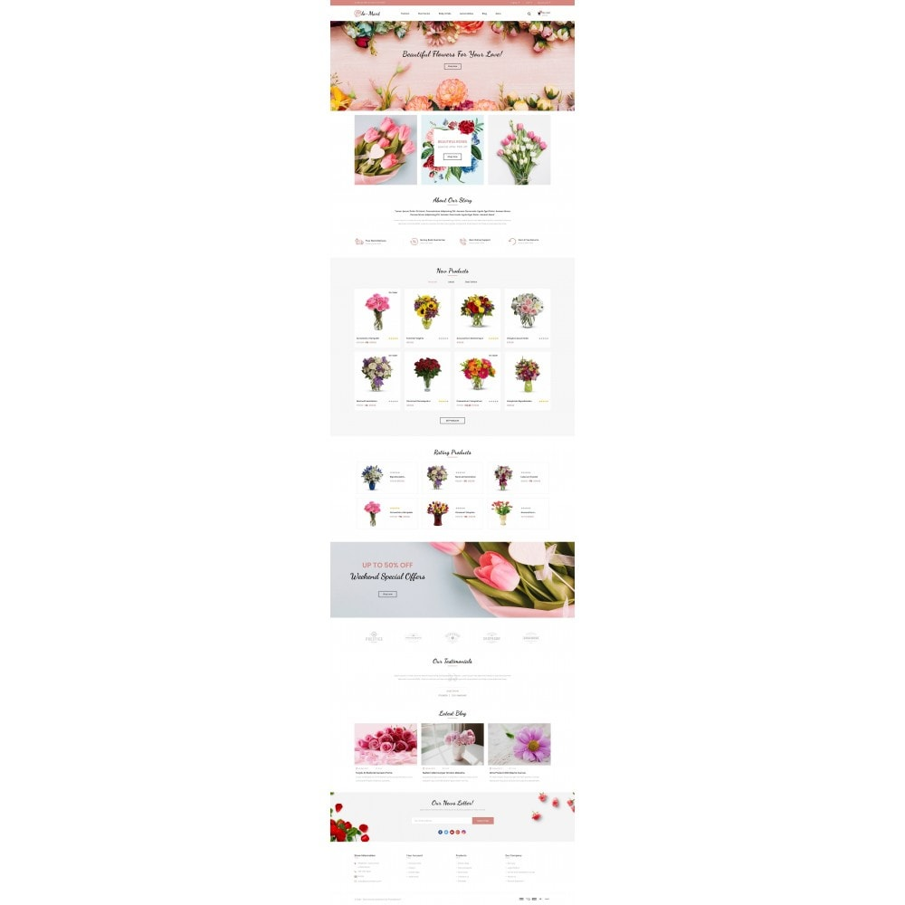 theme - Gifts, Flowers & Celebrations - Flowmart - Flowers Store - 2
