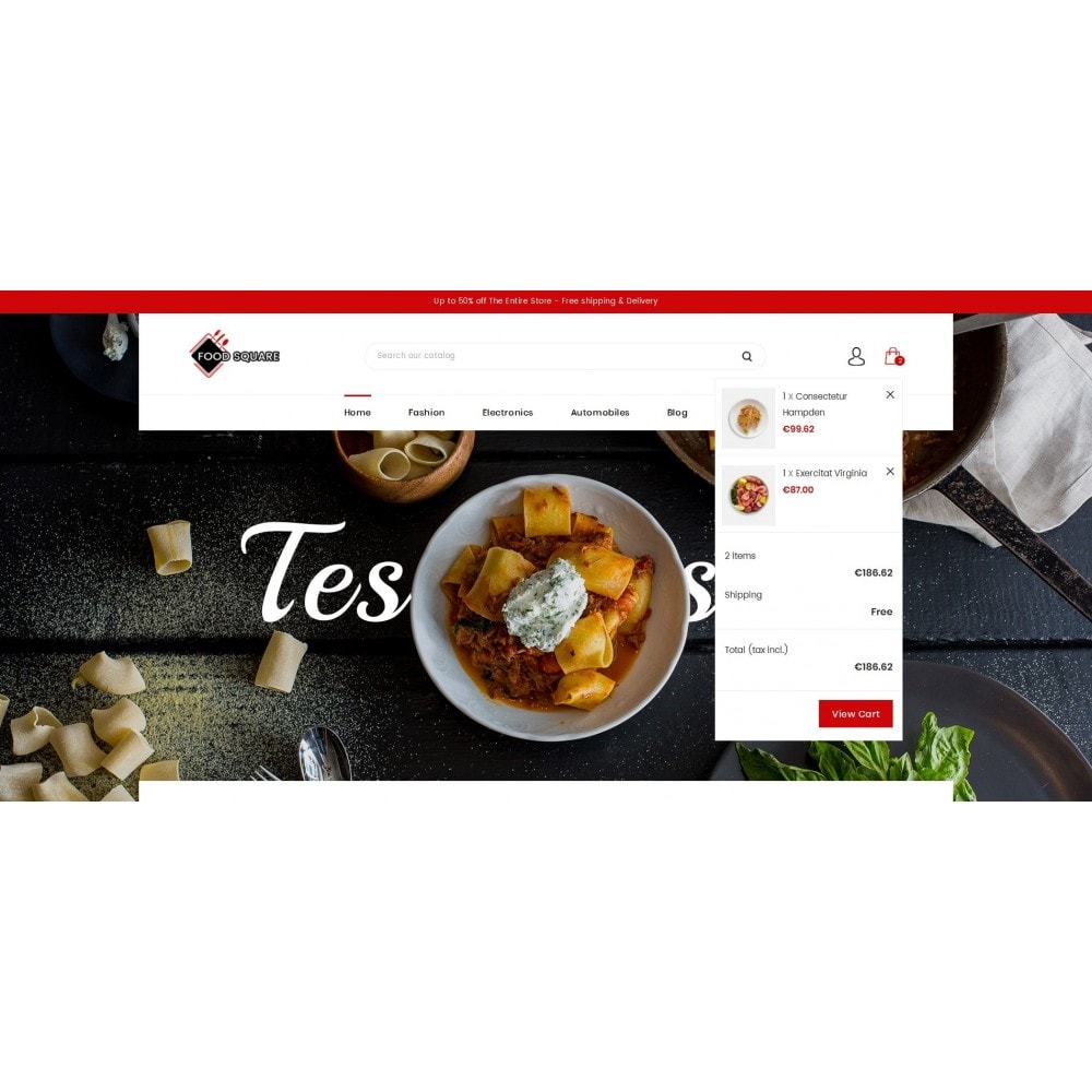 theme - Продовольствие и рестораны - Food Square - Restaurant Store - 8