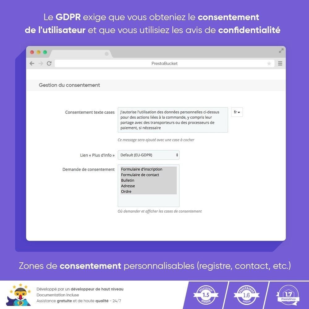 module - Législation - RGPD Règlement Général sur la Protection des Données - 5