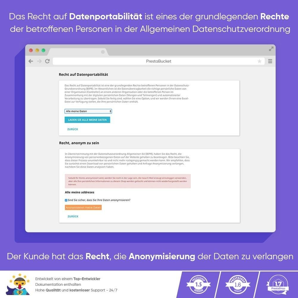 module - Rechtssicherheit - DSGVO PROFI - Datenschutz-Grundverordnung - ALL in 1 - 13