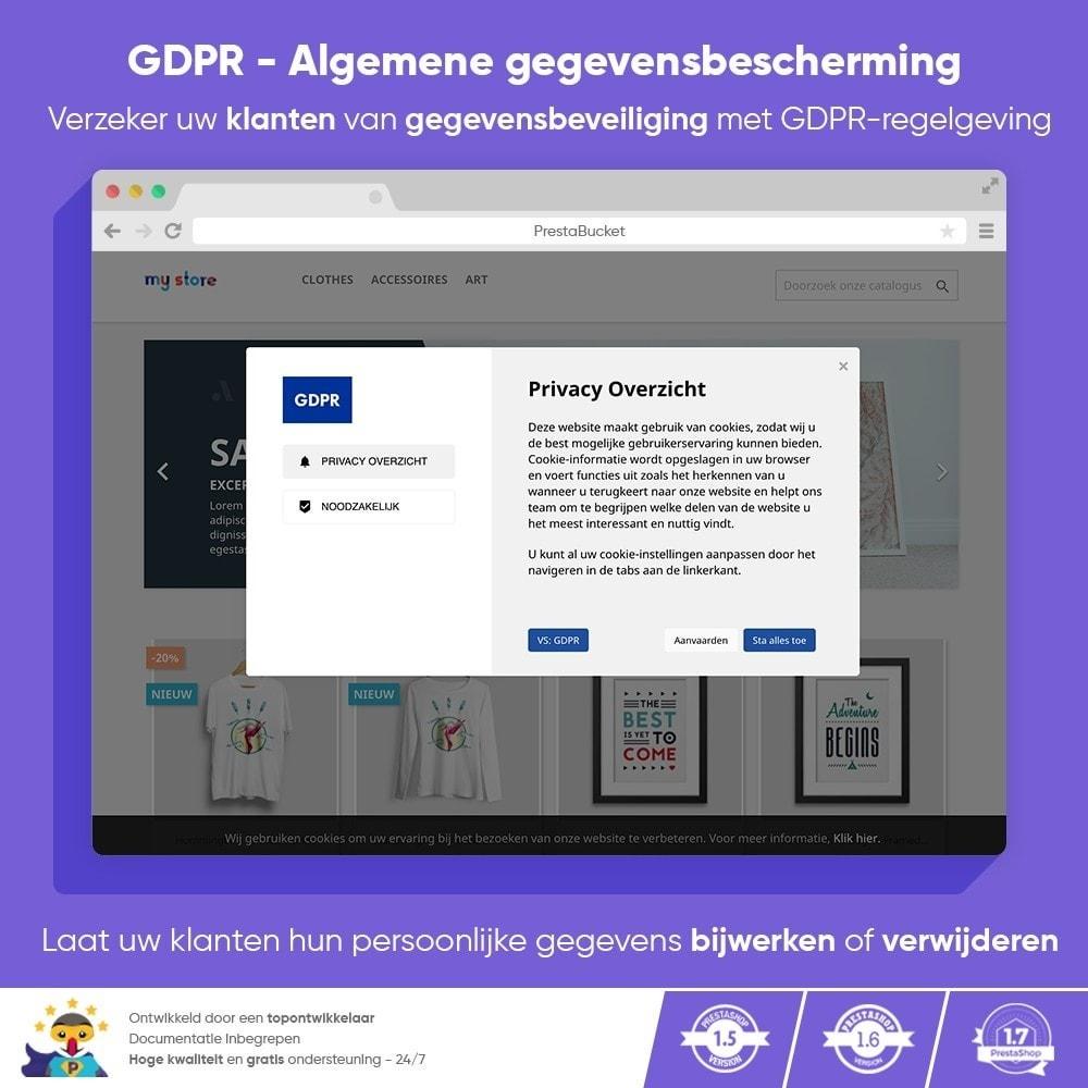 module - Juridisch - AVG PRO - Algemene Verordening Gegevensbescherming - 1